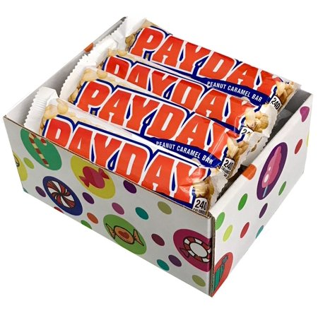 PAYDAY Peanut Caramel Bar (Pack of 12) By CandyLab (Payday 2 Halloween Heist)