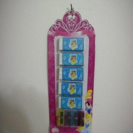 Disney Princess Erasers (Disney Princess 5 Pc Erasers and 4 Multi Color)