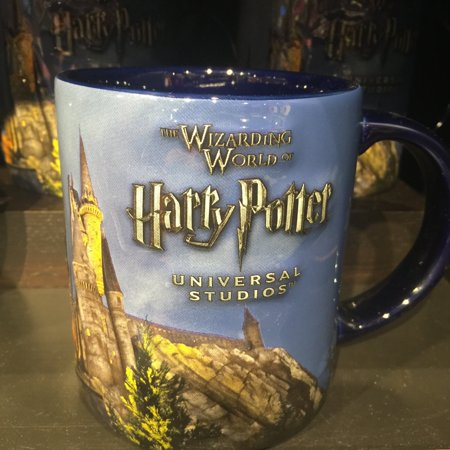Universal Studios The Wizarding World Harry of Potter Castle Coffee Mug (Castle Mug)
