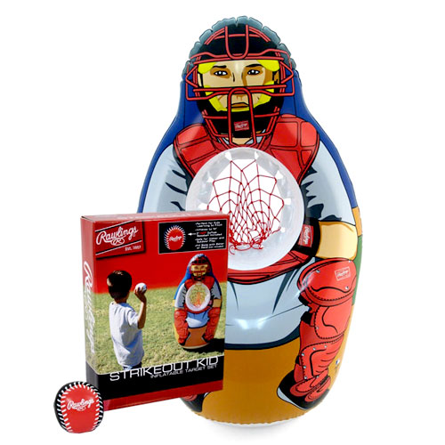 Rawlings Strikeout Kid Inflatable Baseball Target Set