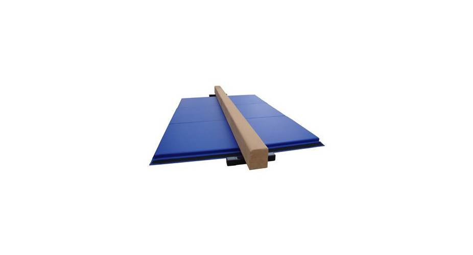 balance beam and mat combo