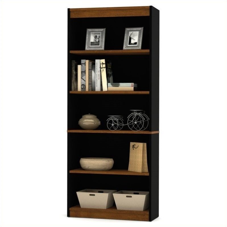 Bestar Innova 5 Shelf Bookcase in Tuscany Brown - image 1 of 3