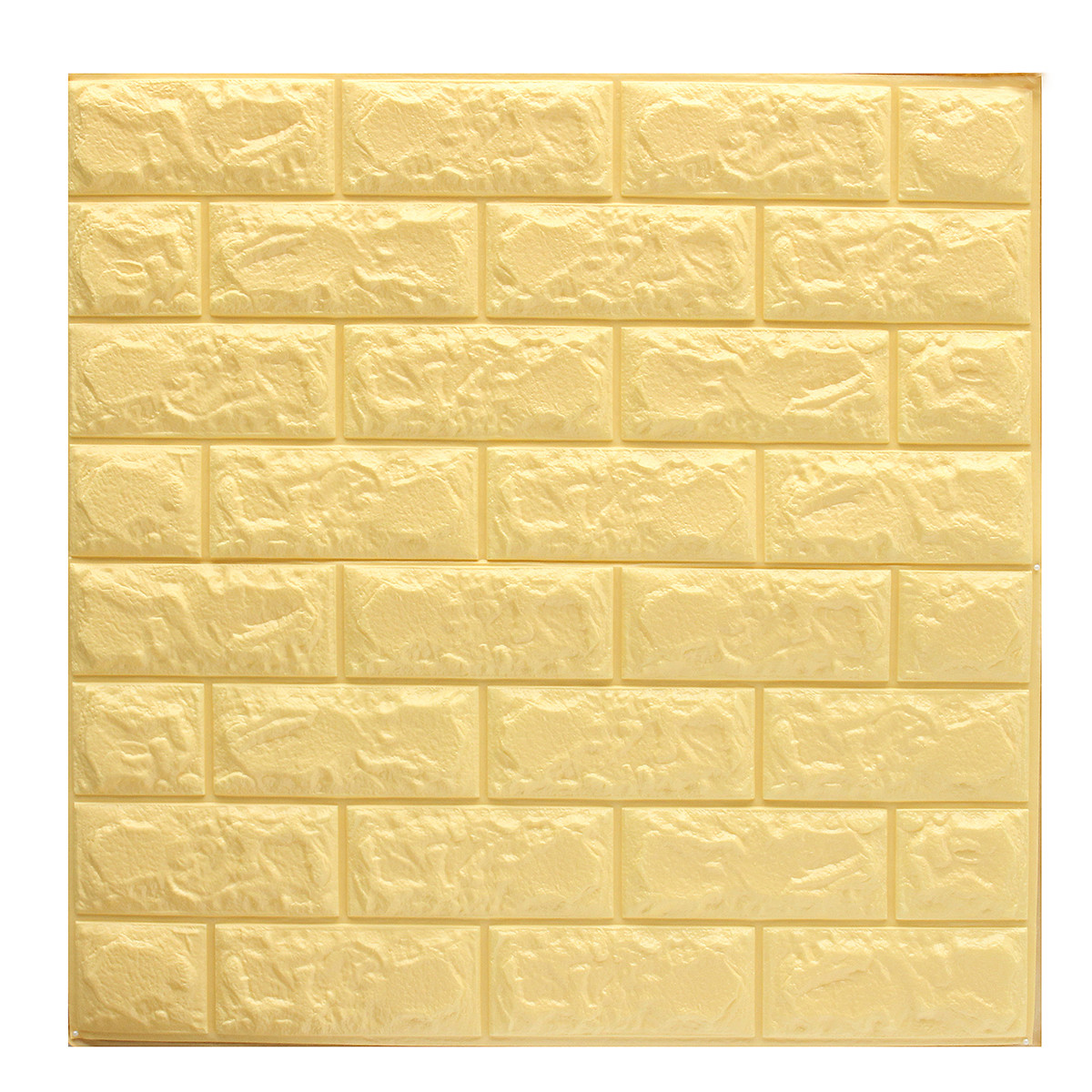 57sq.ft Roll Wall Paper Removable Waterproof 3D Embossed Effect Brick Stone Wall Sticker Vinyl Wallpaper / Wall Decal / TV Walls / TV Background 393.7'' x 21''