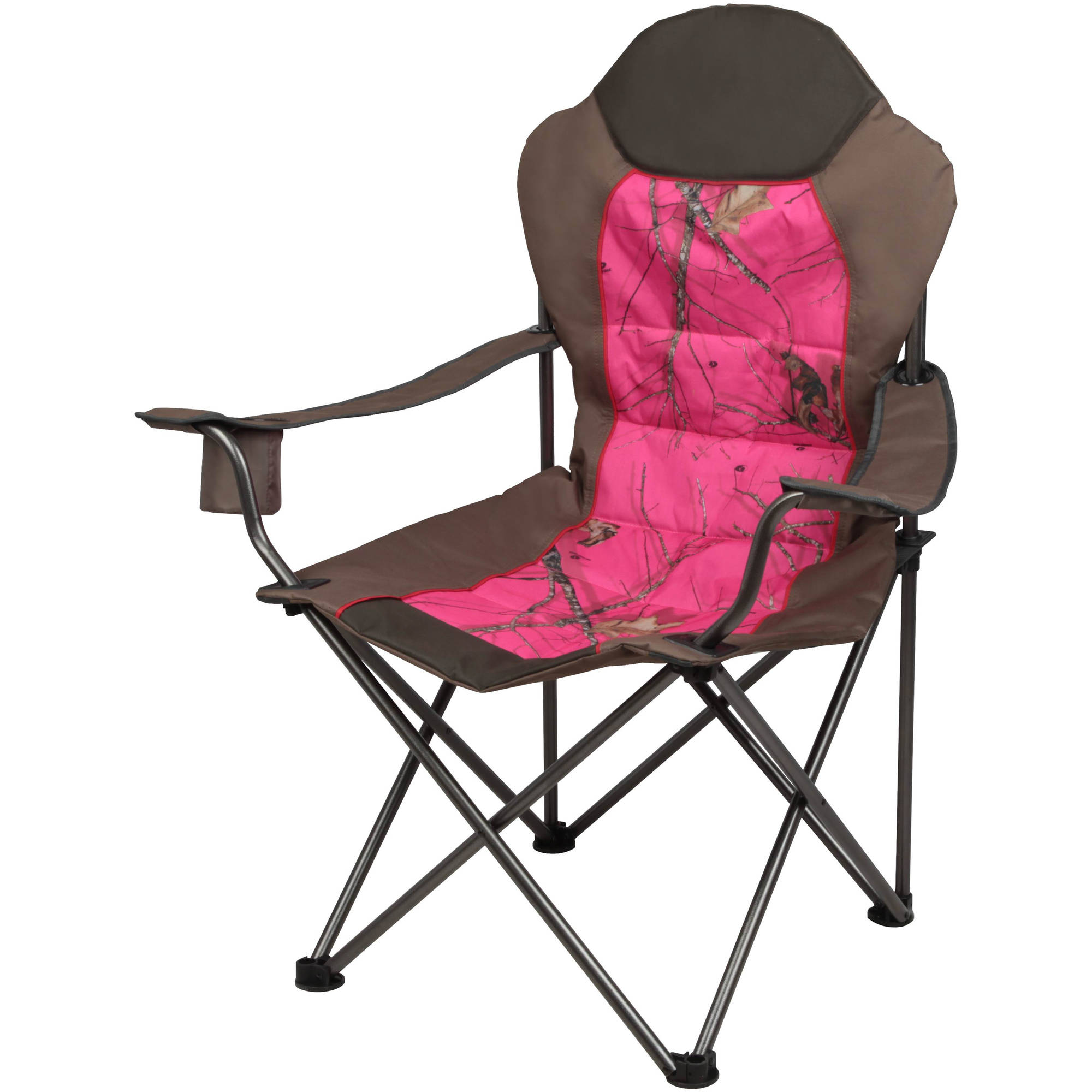 Attirant Mossy Oak Outfitter Deluxe Chair, Pink   Walmart.com