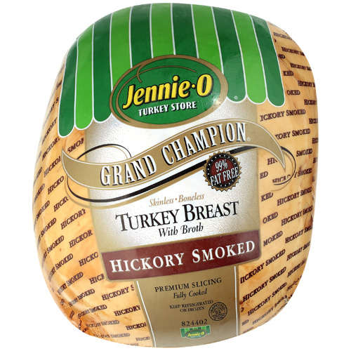 Jennie-O Turkey Store Grand Champion Hickory Smoked Turkey, Deli Sliced