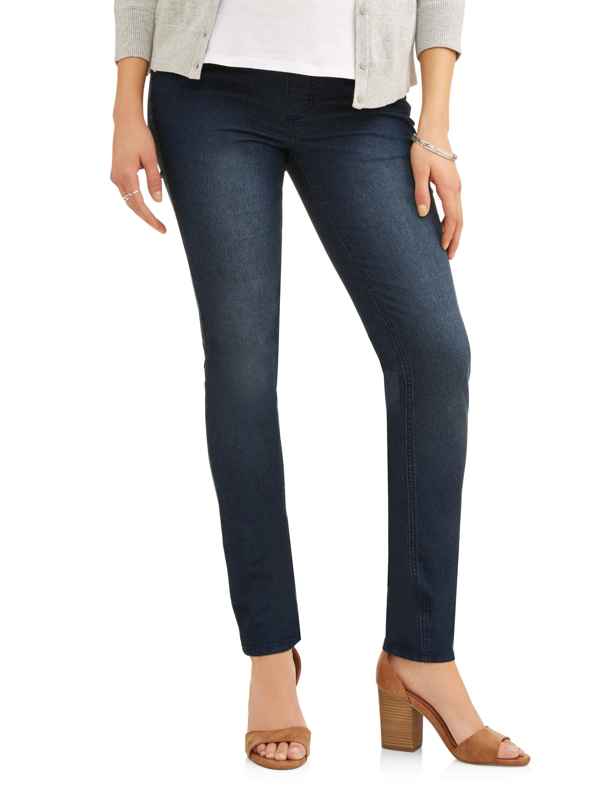 Maternity Demi-Panel Super Soft Skinny Jeans - Available in Plus Sizes