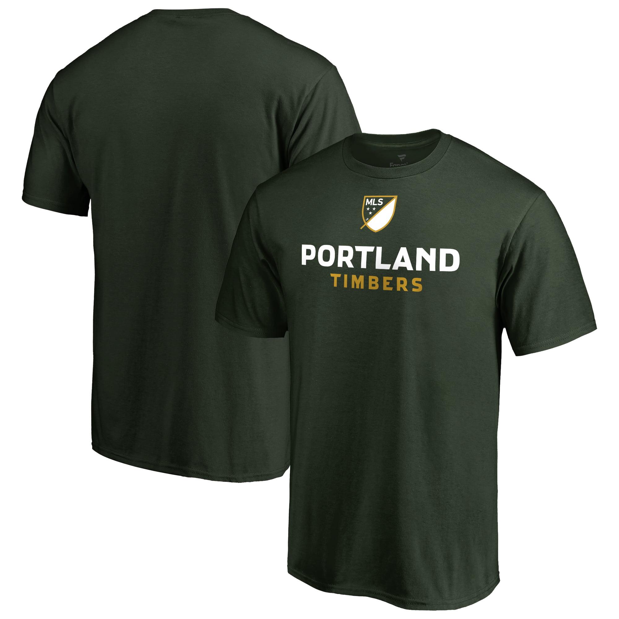 Portland Timbers Fanatics Branded Shielded T-Shirt - Green