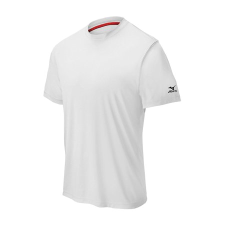 Mizuno Mens Baseball Apparel - Mizuno Comp Short Sleeve Crew Neck Shirt - (Comp Tri Short)
