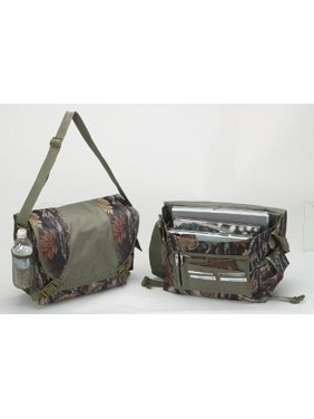 Camo Laptop Compuet Messenger Bag, Made of 600D polyester in a exclusive camo print