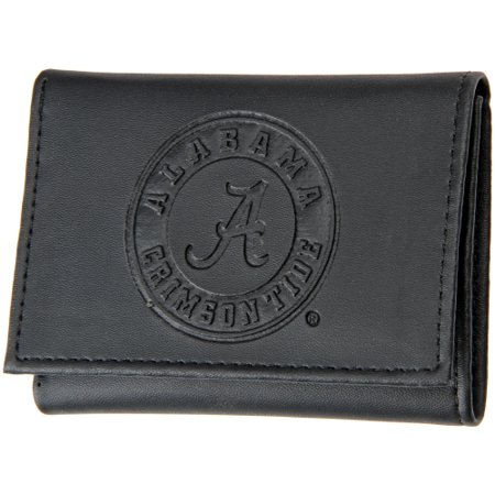 Alabama Crimson Tide Hybrid Tri-Fold Wallet - Black - No Size