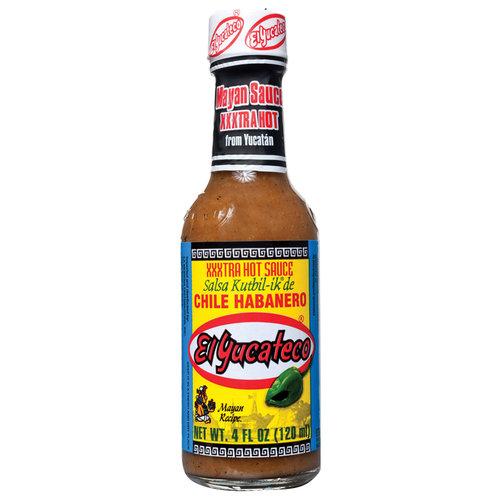 El Yucateco Chile Habanero XXXtra Hot Sauce, 4 fl oz by Generic