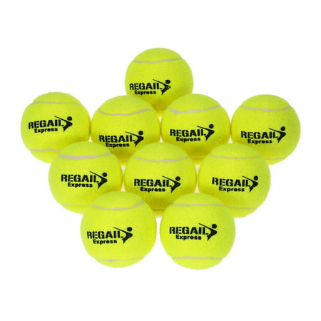 10pcs/bag Tennis Training Ball Practice High Resilience Training Durable Tennis Ball Training Balls for Beginners Competition - image 7 of 7