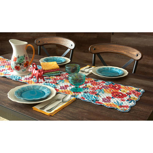 The Pioneer Woman Flea Market Reversible Runner Walmart Com