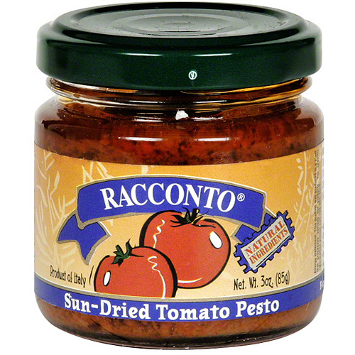 Racconto Sun-Dried Tomato Pesto, 6.3 oz (Pack of 6)