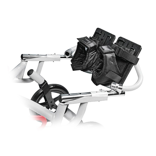 Wenzelite Foot and Ankle Positioner for Wenzelite Trotter Mobility Rehab Stroller, Black