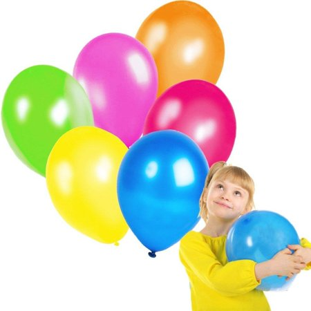 Latex Balloons - Mega Bulk Pack of 144 Colorful Adorable Balloons - Assorted Party, Holiday, Birthday Decoration!