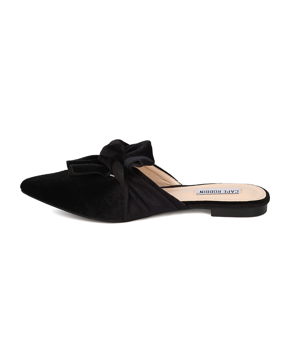 7062377e129c Cape Robbin - Women Knotted Flat Mule - Bow Slip On Sandal - Pointy Toe  Slide - HK10 By Cape Robbin - Walmart.com