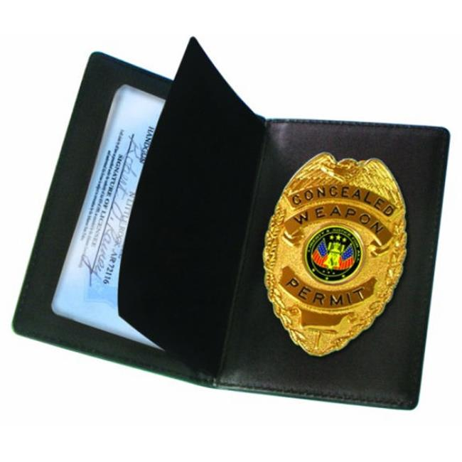 PSP Concealed Badge Carrier and Wallet - PSPCWPB