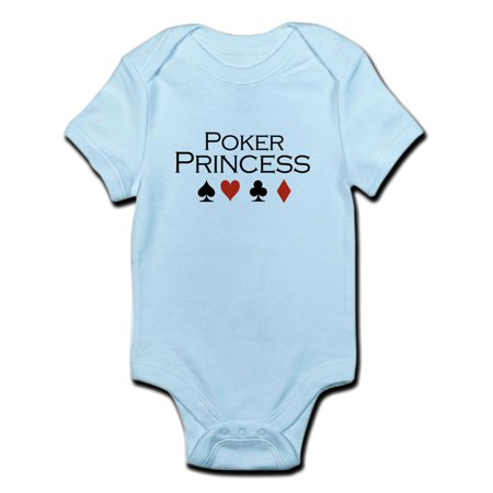 CafePress - Poker Princess / Poker Infant Bodysuit - Baby Light Bodysuit](Princess Peach Onesie)