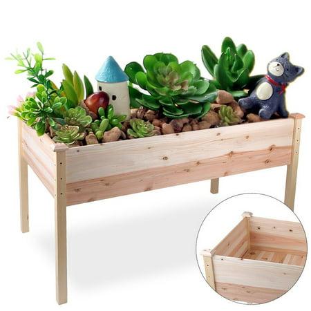 Raised Vegetable Garden Bed Elevated Planter Kit Grow Gardening Bed