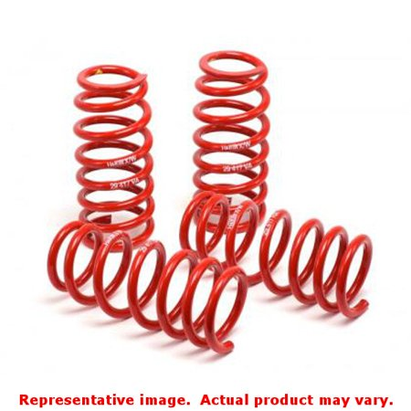 H&R Springs - Race Springs 50460-88 FITS:BMW 2004-2007 525I w/o Self-Leveling; Self Leveling Suspension