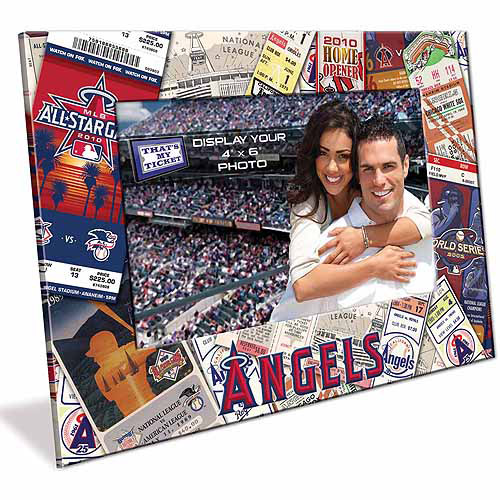 4X6 Picture Frame - Los Angeles Angels Los Angeles Angels TFPFBBANA
