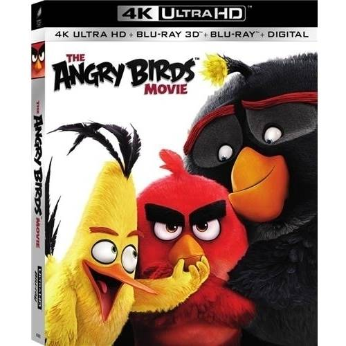 The Angry Birds Movie (4K UltraHD + 3D Blu-ray + Blu-ray + Digital HD)