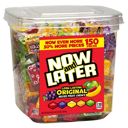 Now & Later Fruit Chews Candy (89.95 oz., 150 ct.)
