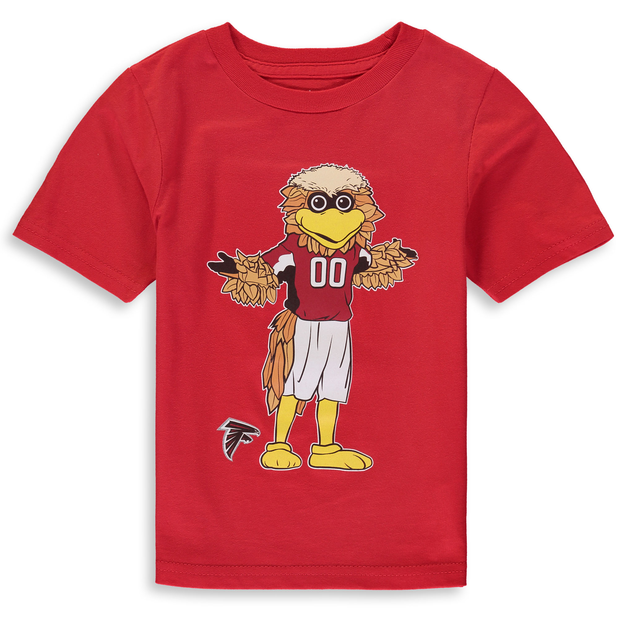 Atlanta Falcons Preschool Standing Mascot T-Shirt - Red