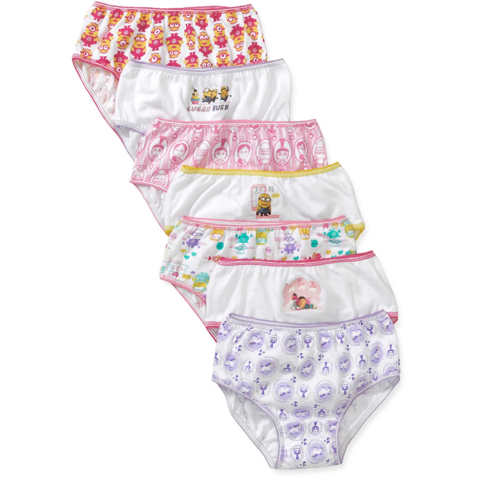 Handcraft Children's Apparel Despicable Me Girls' Underwear 7 Pack