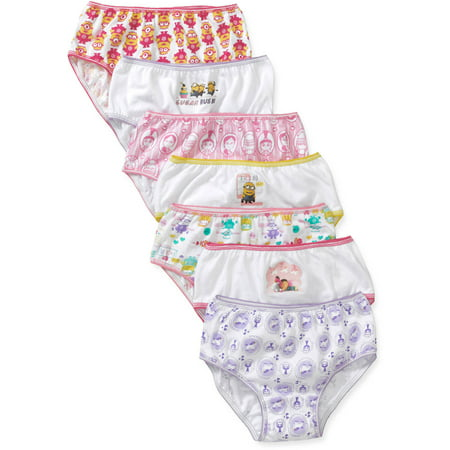 Despicable Me Girls' Underwear 7 Pack