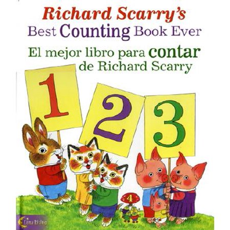 Richard Scarry's Best Counting Book Ever / El Mejor Libro Para Contar de Richard (Sheldon Cooper Best Number)