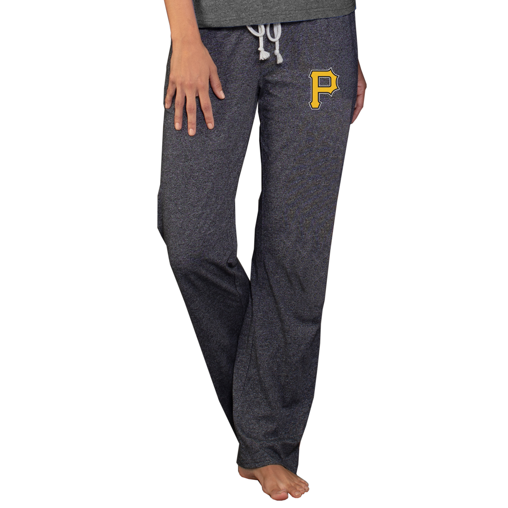 Pittsburgh Pirates Concepts Sport Women's Quest Knit Pants - Charcoal