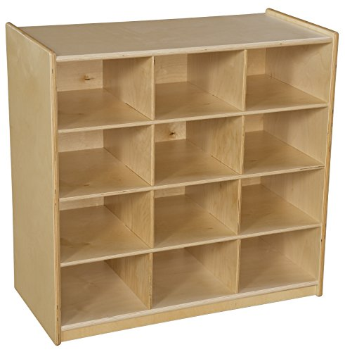 Wood Designs 16129 Cubby Storage without Trays