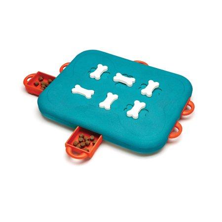 Outward Hound Nina Ottosson Dog Casino Puzzle Game Large Blue 13.6
