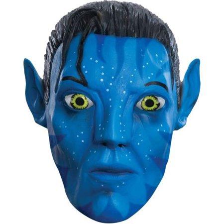 Morris Costumes Avatar Jake 3/4 Mask Costume](Avatar Custome)