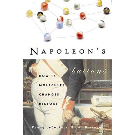Napoleons Buttons  17 Molecules That Changed History