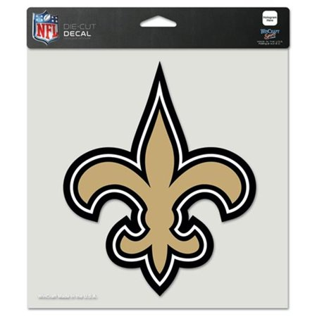 """New Orleans Saints Die-Cut Decal - 8""""x8"""" Color - image 1 de 1"""