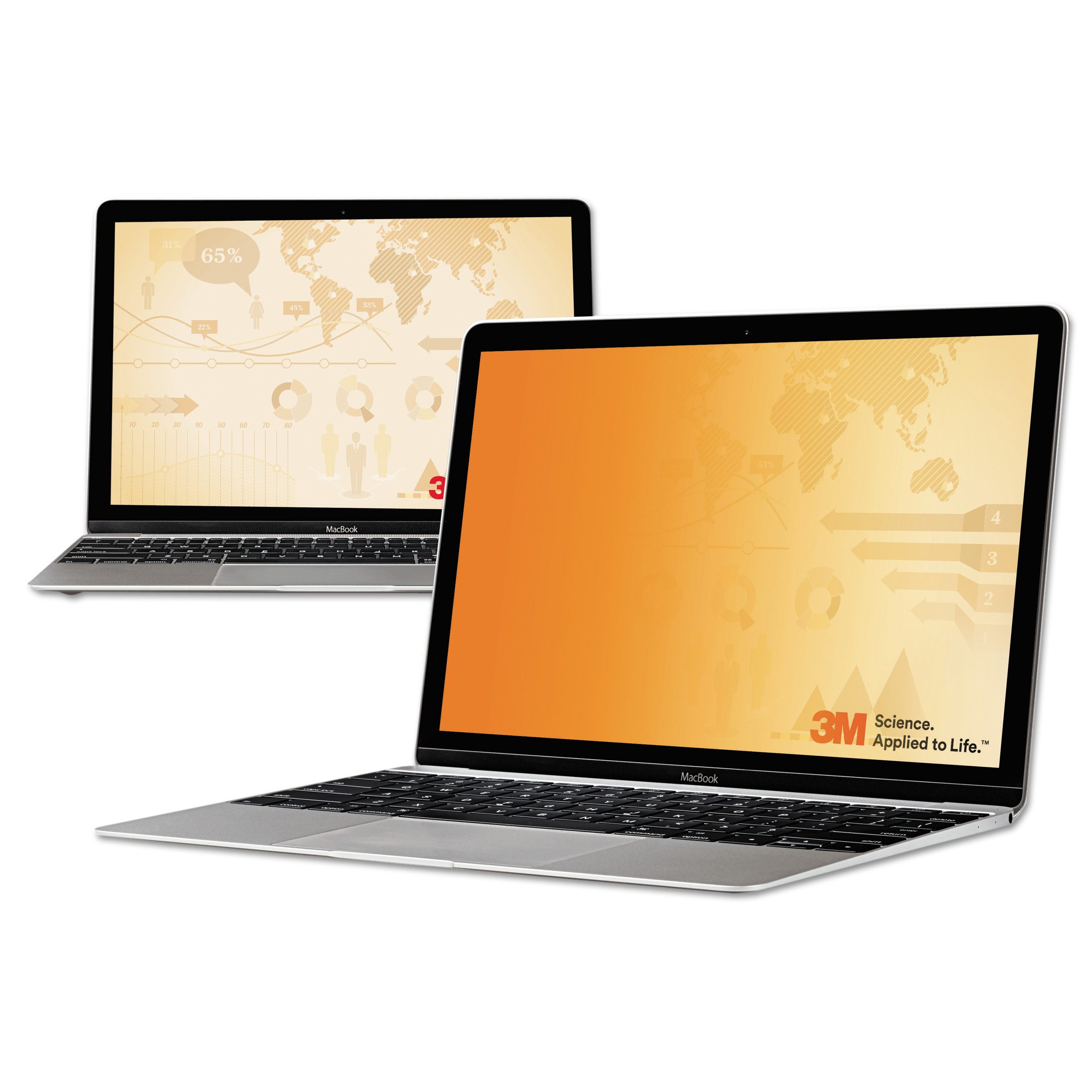"3M Blackout Frameless Privacy Filter for 13.3"" Widescreen Notebook, 16:9"