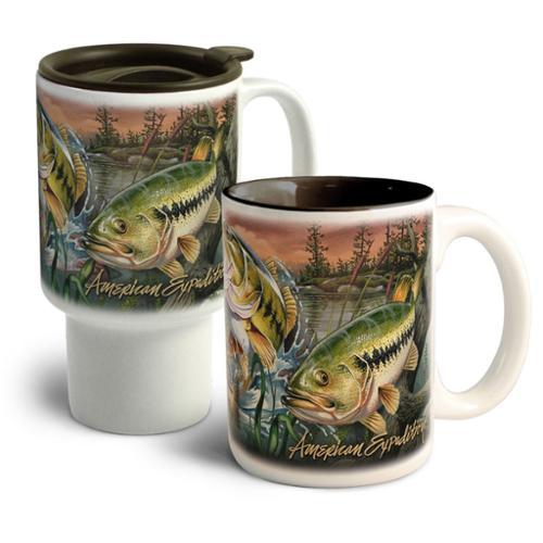 American Expedition  Collage Home Stoneware Mug Set