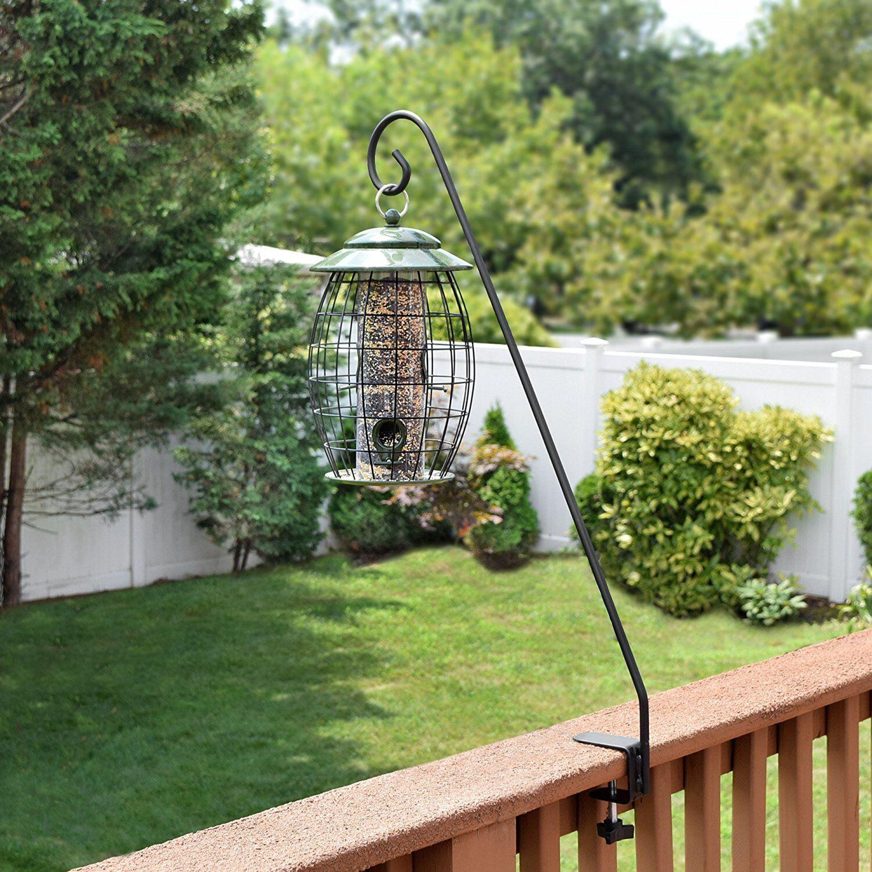 bird pole hangers manufacturing feeder decks clamp wonderful railing deck hiatt for modern
