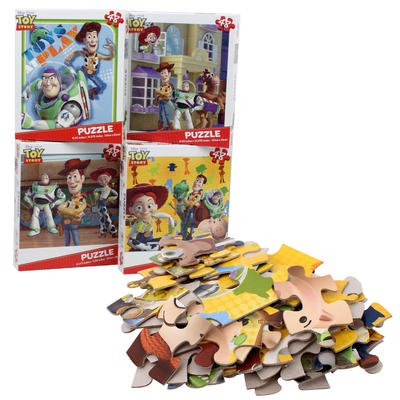 New 213497  Disney Pixar 48-Pc Toy Story Jigsaw Puzzle - Asst (24-Pack) Action Cheap Wholesale Discount Bulk Toys Action Rectangle Plate](Discount Puzzles)