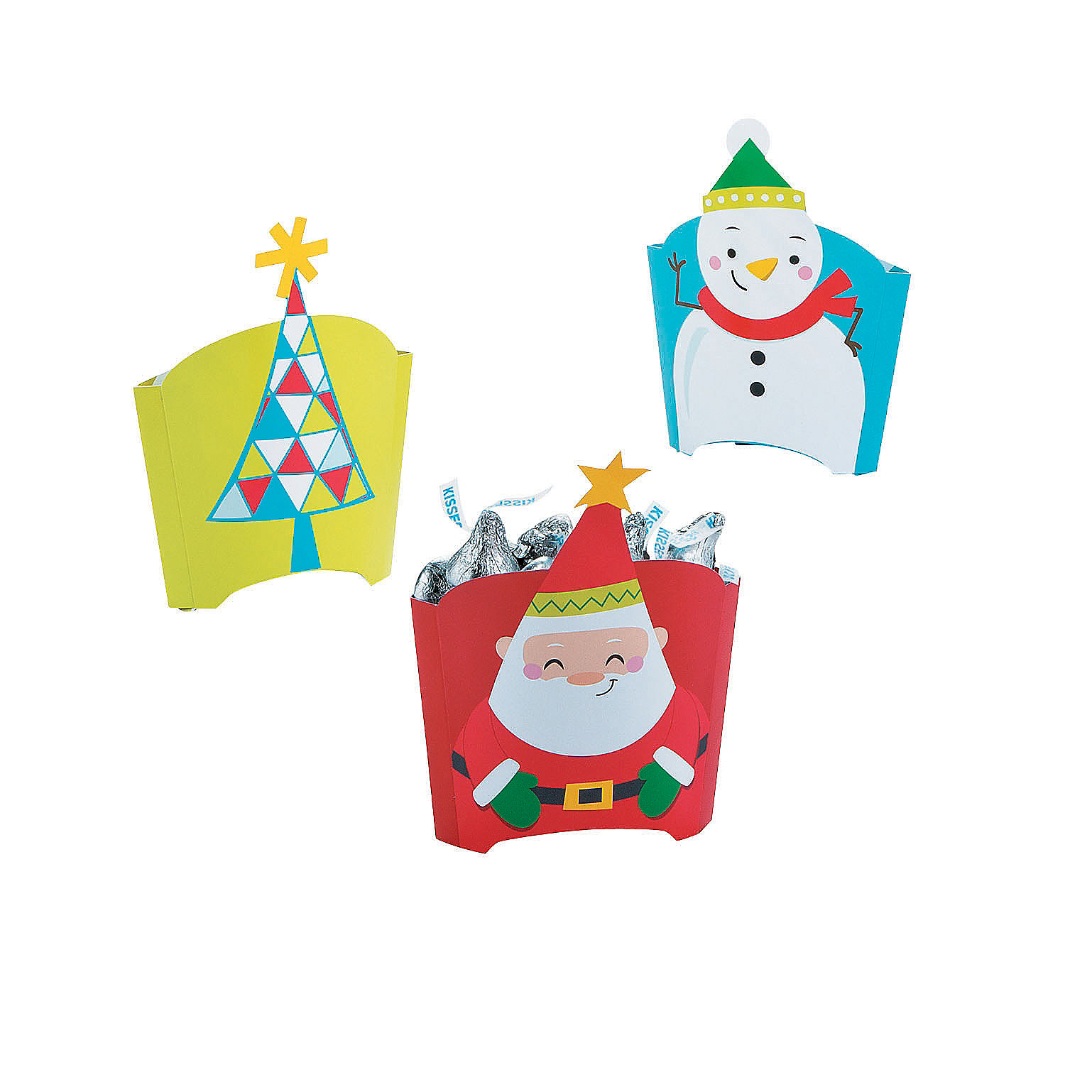 IN-13778905 Pop-Up Christmas Treat Containers Per Dozen 2PK