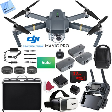 DJI Mavic Pro 4K Camera Quadcopter Drone 2 Extra Batteries ...