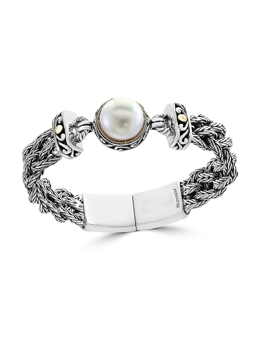 Effy 925 Pearl Sterling Silver Ring