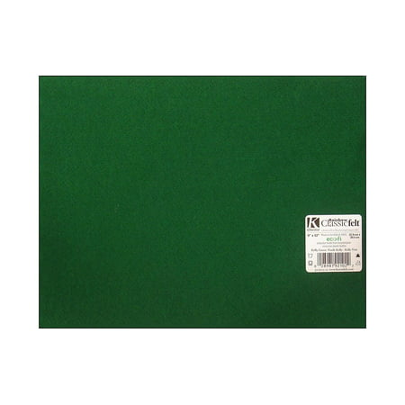 Kelly Green Classic Craft Felt, 1 Each (Halloween Felt Crafts)
