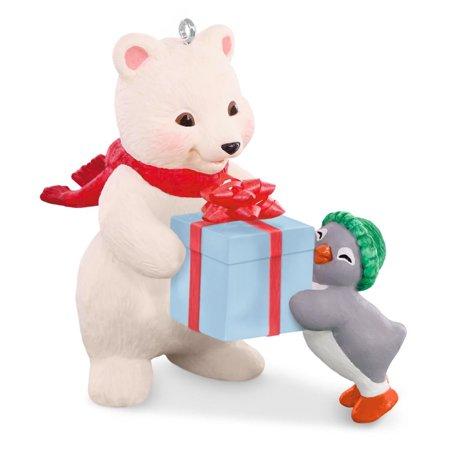 - Hallmark Ornament 2016 Snowball and Tuxedo #16 - Thats a Wrap