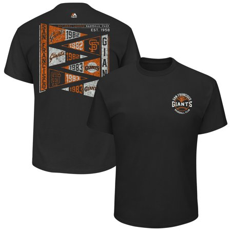 San Francisco Giants Majestic Wave the Pennant T-Shirt - (San Francisco Giants Pennant)