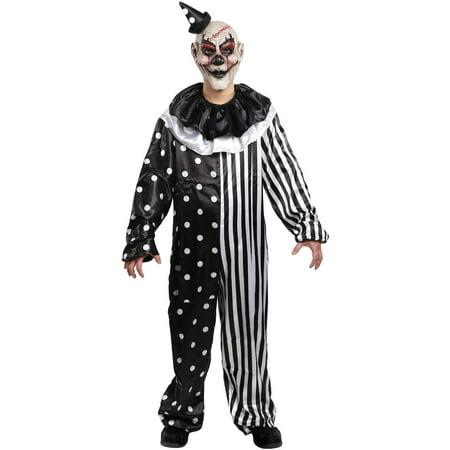 Kill Joy Clown Costume Adult Halloween Costume