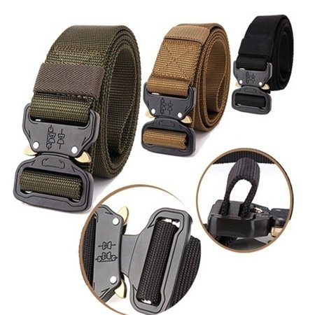 Two Styles Male Luxury Casual Waist Canvas Belts Military Tactical Belt for  Men High Quality Straps Jeans